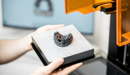 Impressão 3D no laboratório de próteses